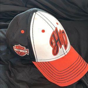 Harley Davidson adjustable ball cap. Like New!